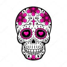мексиканский череп тату день мертвых черепа тату цветок сахара