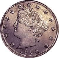 V Nickel Value Chart 1905 Liberty Head V Nickel Value Cointrackers