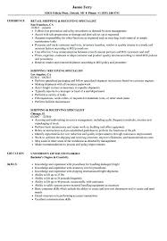 shipping and receiving resume. Shipping And Receiving Manager Resume Shipping And Receiving Resume