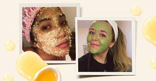 5 elle editors tried diy face masks using pantry ings here s what worked