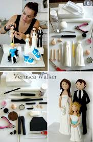 FREE TUTORIAL: Bride and Groom <b>toppers</b> from Verusca Walker ...