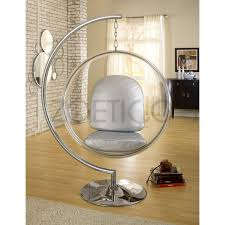 Metal Hanging Chair With Stand