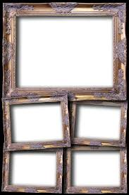 multiple empty picture frames. Sample Layout Overlays Multiple Empty Picture Frames O