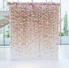 Hanging Paper Flower Backdrop Wedding Paper Flowers Wall Flowersbysallyann Com