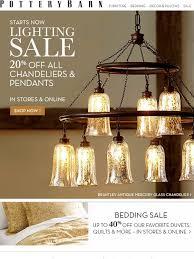 pottery barn the lighting is on 20 off all chandeliers and pendants milled