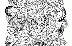 Anti Stress Coloring Pages Printable Zen Antistress Free Adult 5