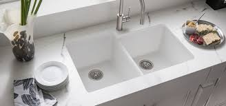 elkay granite sinks. Contemporary Sinks Quartz Classic White Color Finish Elkay For Granite Sinks