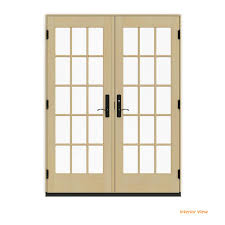 jeld wen 60 in x 80 in w 4500 contemporary white clad