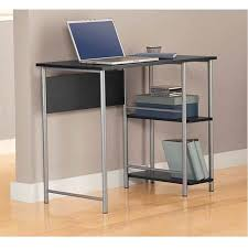 Home office furniture walmart Shoal Creek fasttrackmainstays Basic Student Desk Black And Silver Walmartcom Pinterest Fasttrackmainstays Basic Student Desk Black And Silver Walmart