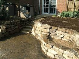 stone retaining walls adelaide veneer wall cost blocks