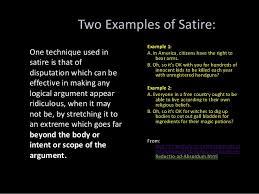 satirical essays famous satirical essays