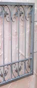 Fenstergitter Schmiedeeisen Einbruchschutz Monaco Z120 Flex Verzinkt