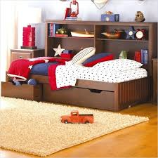 Twin Size Bed Frame For Toddlers Kid Bed Frame With Drawers Adorable ...