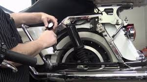 Harley Davidson Air Suspension Chart How To Adjust The Load On The Touring Suspsension Of Your Harley Davidson