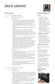 Industrial Designer Resume Samples Visualcv Resume Samples Database