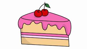 Transparent Animated Cake Slice Sketch Illustration Hand Drawn Animation Transparent