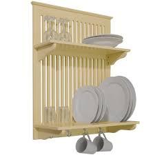 Plate Storage Rack Kitchen Cheshunt Wall Mounted Kitchen Plate Cup Storage Rack White