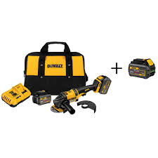 dewalt cordless grinder. this review is from:flexvolt 60-volt max lithium-ion cordless brushless 4-1/2 in. to 6 angle grinder w/ batteries 6ah and bonus battery dewalt