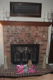 Mantels For Brick Fireplaces Idi Design