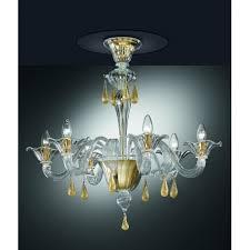 murano artistic glass chandelier 1181 pl6