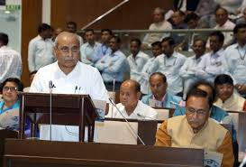 Pictures Of Man Sitting On Gujarat Assembly Speaker Rajendra