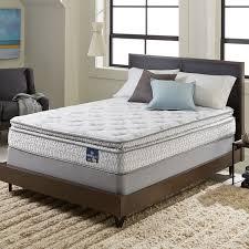 queen size mattress set. Simple Set Serta Extravagant Pillow Top Twinsize Mattress Set On Queen Size