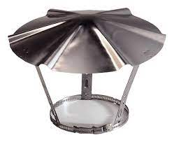 Chapeau en inox - Ø 190/220 mm - Brico Dépôt