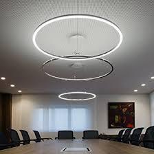 office pendant lighting. lightinthebox pendant light modern design living led ring home ceiling fixture flush mount office lighting a