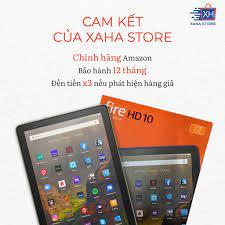 Mã SKAMPUSHA8 giảm 8% đơn 300K] Máy tính bảng Fire HD 10 RAM 3GB 2021 và  Fire HD 10 Plus RAM 4GB 2021, chính hãng Amazo giá cạnh tranh
