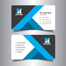 Office Visiting Card Visiting Card Design For Office Vector Premium Download