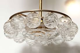 doria glass sphere chandelier for beautiful dining room lighting design
