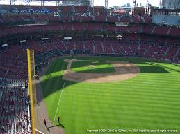 Sikeston Rodeo Seating Chart Busch Stadium View From Right Field Terrace 428 Vivid Seats