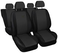 car seat covers fit volkswagen passat xr black dark grey sport style