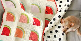 Watermelon Fabric By Design For This Adorable Quilt – Quilting Cubby & Watermelon Fabric By Design For This Adorable Quilt Adamdwight.com