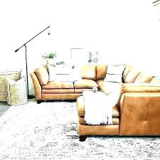 cream colored leather sofa how to clean couch