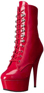 Pleaser Boots Size Chart Pleaser Womens Delight 1020 Boots