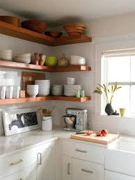 Kitchen Decor Designs Awesome Kitchen Shelf Decorating Ideas Rustic Shelves Corner Industrial