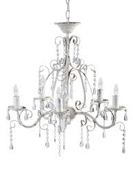 florence chandelier antique white with regard to attractive property cut out chandelier designs
