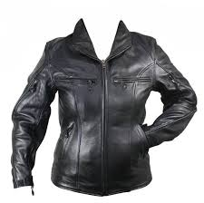cowhide leather cruiser motorcycle jacket with advanced armor