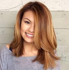 Image Coloration Cheveux Asiatique Coiffure Cheveux Mi Long