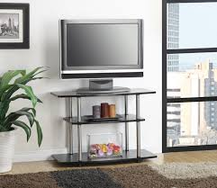 Television Tables Living Room Furniture Amazoncom Convenience Concepts Designs2go 3 Tier Tv Stand For