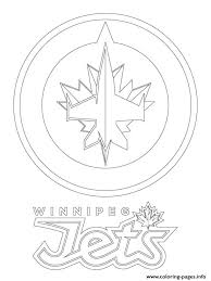 Small Picture winnipeg jets logo nhl hockey sport Coloring pages Printable