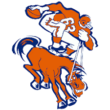 Denver Broncos Primary Logo | Sports Logo History