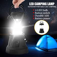 Mosunx New Led Camping Outdoor Light Bivouac Tent Lantern Fishing