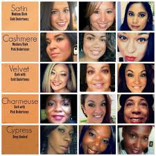 Younique Shade Chart Younique Foundation Color Chart Find Your Shade Here
