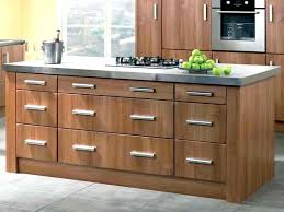 natural walnut kitchen cabinets ready to assemble modern cabinet with stainless now