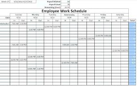 Schedule Monthly Template Monthly Shift Schedule Template Tellers Me