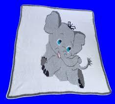 Baby Elephant Graphghan - Timeless Fiber Designs