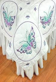 Fairway Needlecraft Butterfly Quilt Blocks - Embroidery Kit 95405 ... & Butterfly Quilt Blocks - Embroidery Kit Adamdwight.com