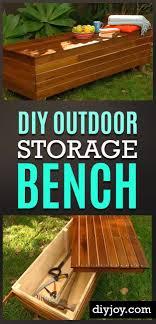 Diy Yard Projects 25 Best Outdoor Storage Ideas On Pinterest Patio Storage